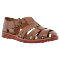 Bertie Fisherman Sporty Sole Leather Sandals