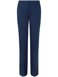 Pure Collection Tiana Linen Trousers French Navy