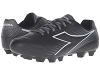 Diadora Mago L Lpu Black White Grey Men's Soccer Shoes