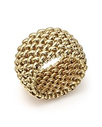 Bloomingdale's Woven Ring In 14K Yellow Gold