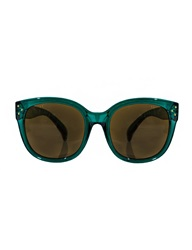 Pixie Market Emerald Green Sunglasses