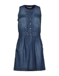 Roy Rogers Roy Roger's Choice Short Dresses Blue