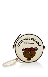 Olympia Le Tan Little Miss Trouble Crossbody Bag White