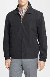 Men's Rainforest 'Microseta' Lightweight Golf Jacket Black