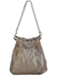 Laura B Small Pouch Bag Metallic