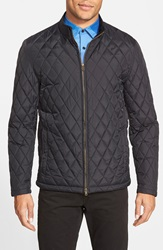 Vince Camuto Quilted Moto Jacket Black