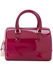 Furla Medium 'Candy Bowling' Tote Pink And Purple