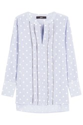 Steffen Schraut Summer Dot Stripe Tunic Shirt Dots