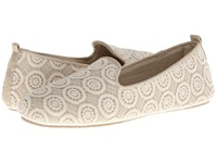 Acorn Novella Cream Lace Women's Flat Shoes Bone