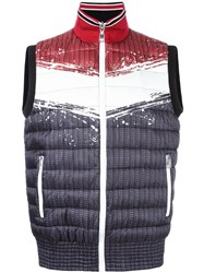 Just Cavalli Quilted Padded Gilet Black