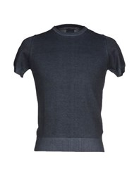 Alpha Massimo Rebecchi Knitwear Jumpers Men Slate Blue