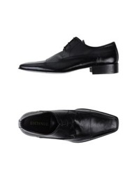 Luciano Ilari Lace Up Shoes Black