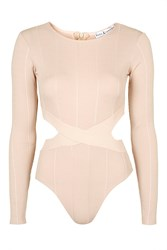 Cut Out Bandage Bodysuit By Rare Pink
