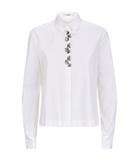 Dorothee Schumacher Elite Objects Embellished Blouse White