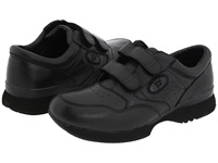Propet Leisure Walker Strap Medicare Hcpcs Code A5500 Diabetic Shoe Black Men's Hook And Loop Shoes