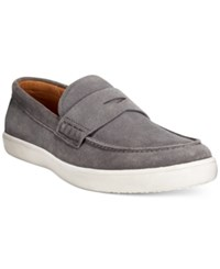 Alfani Tate Hybrid Penny Loafers Only At Macy's Men's Shoes Grey
