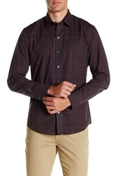 Zachary Prell Sculthorpe Long Sleeve Shirt Red