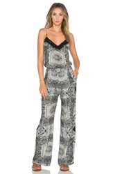 Gypsy 05 Printed Jumpsuit Black