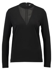 Pieces Pchane Long Sleeved Top Black