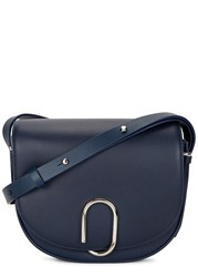3.1 Phillip Lim Alix Navy Leather Cross Body Bag