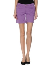 Franklin And Marshall Bermudas Purple