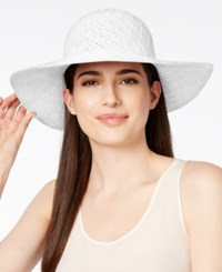Collection Xiix Color Expansion Floppy Hat White
