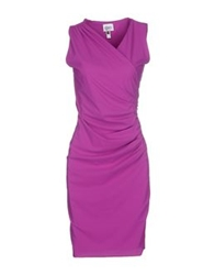 Christies Knee Length Dresses Mauve