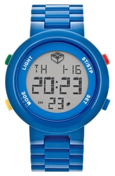 Lego 'Digifigure' Bracelet Watch 42Mm Blue
