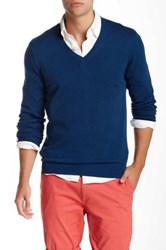 Ben Sherman The V Neck Sweater Blue
