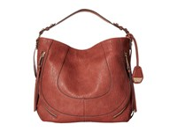 Jessica Simpson Kendall Hobo Brandy Hobo Handbags Brown