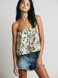 Free People Floral Structured Tube Tea Combo