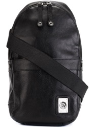 Diesel Sling Backpack Black