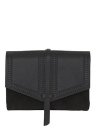 Isabel Marant Holly Nappa Leather And Suede Shoulder Bag