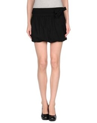Siviglia Mini Skirts Black