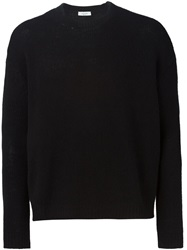 Valentino Crew Neck Sweater Black