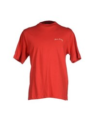 Marina Yachting Topwear T Shirts Men Red