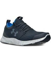 Under Armour Men's Drift Running Sneakers From Finish Line Stealth Grey Ultra Blue S