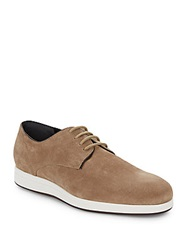 Vince Yuri Embossed Suede Derby Shoes
