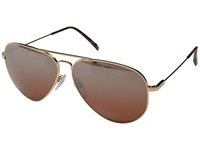 Electric Eyewear Av1 Xl Rose Gold Melanin Rose Silver Chrome Gradient Fashion Sunglasses