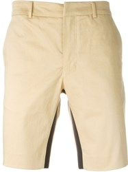 Opening Ceremony Slim Fit Shorts Nude And Neutrals