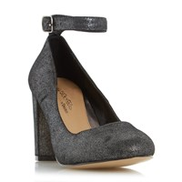 Head Over Heels Ariana Ankle Strap Court Shoes Pewter