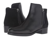 Dune Pryme Black Leather Women's Pull On Boots