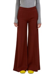 Acne Studios Melora High Waisted Ribbed Pants Brown