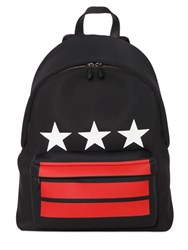 Givenchy Stars And Stripes Print Neoprene Backpack