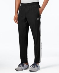 Champion Men's Woven Track Pants Black