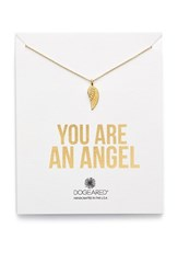 Women's Dogeared 'You Are An Angel' Wing Necklace