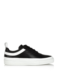 Public School Delcon Low Top Leather Trainers