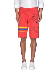 The Editor Trousers Bermuda Shorts Men Coral