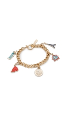 Kenzo Lucky Gilt And Charm Bracelet Multi