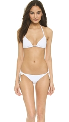 Zimmermann Triangle Bikini Top White